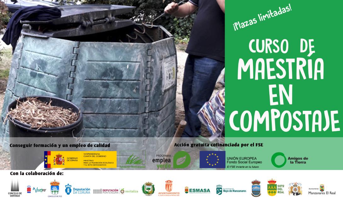 Ir a Curso online de Maestría en Compostaje en Pontevedra