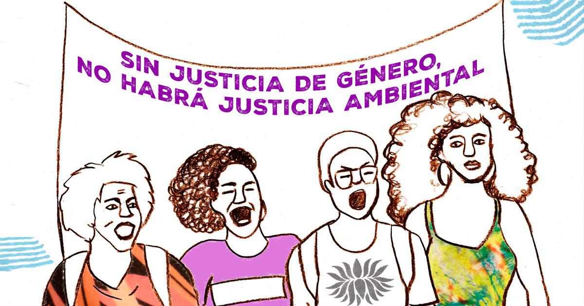 Ir a Manifestación feminista #8M: Sin justicia de género, no habrá justicia ambiental ni social