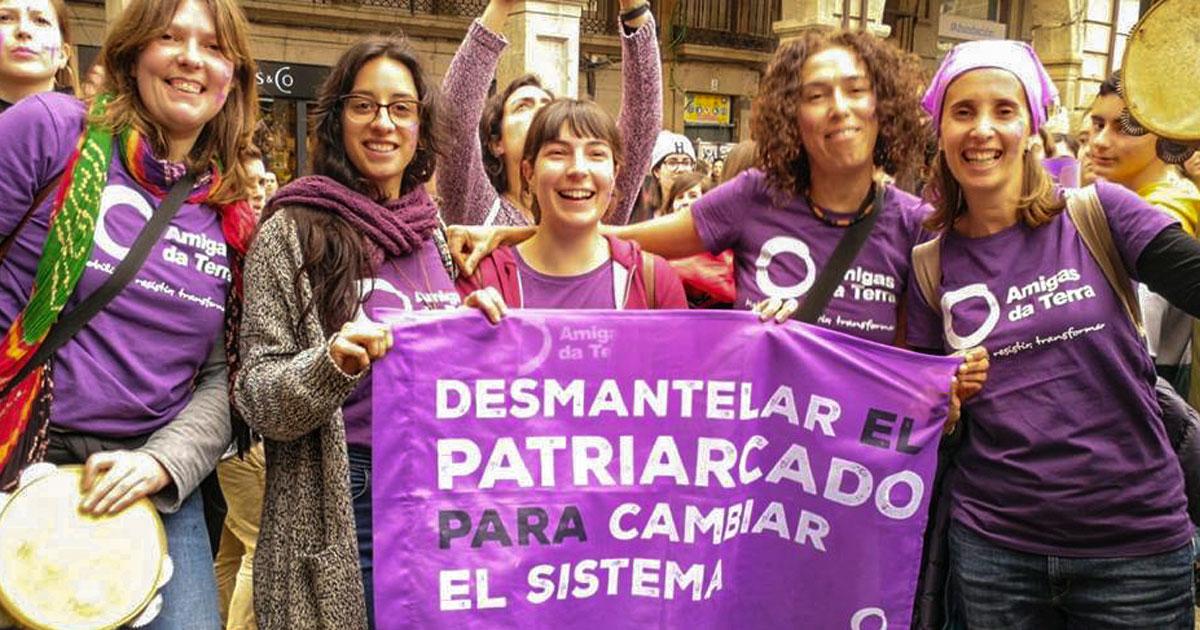 Ir a Nos sumamos a las movilizaciones feministas del 8 de marzo: sin justicia de género, no habrá justicia ambiental