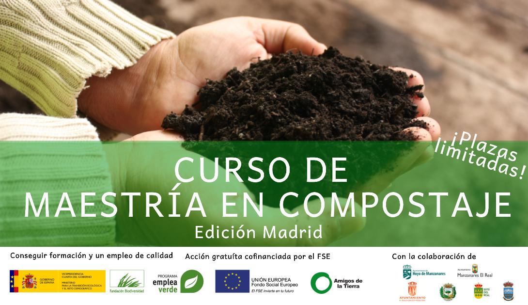 Ir a Curso de Maestría en Compostaje en Madrid
