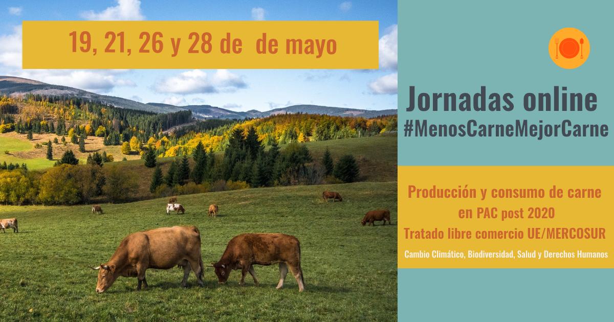 Ir a Lanzamos 8 jornadas online relacionadas con la ganadería industrial y sus alternativas