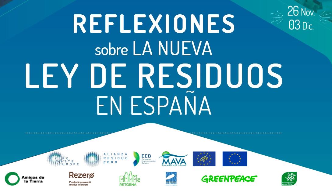 Ir a Evento digital: Reflexiones sobre la nueva Ley de Residuos en España