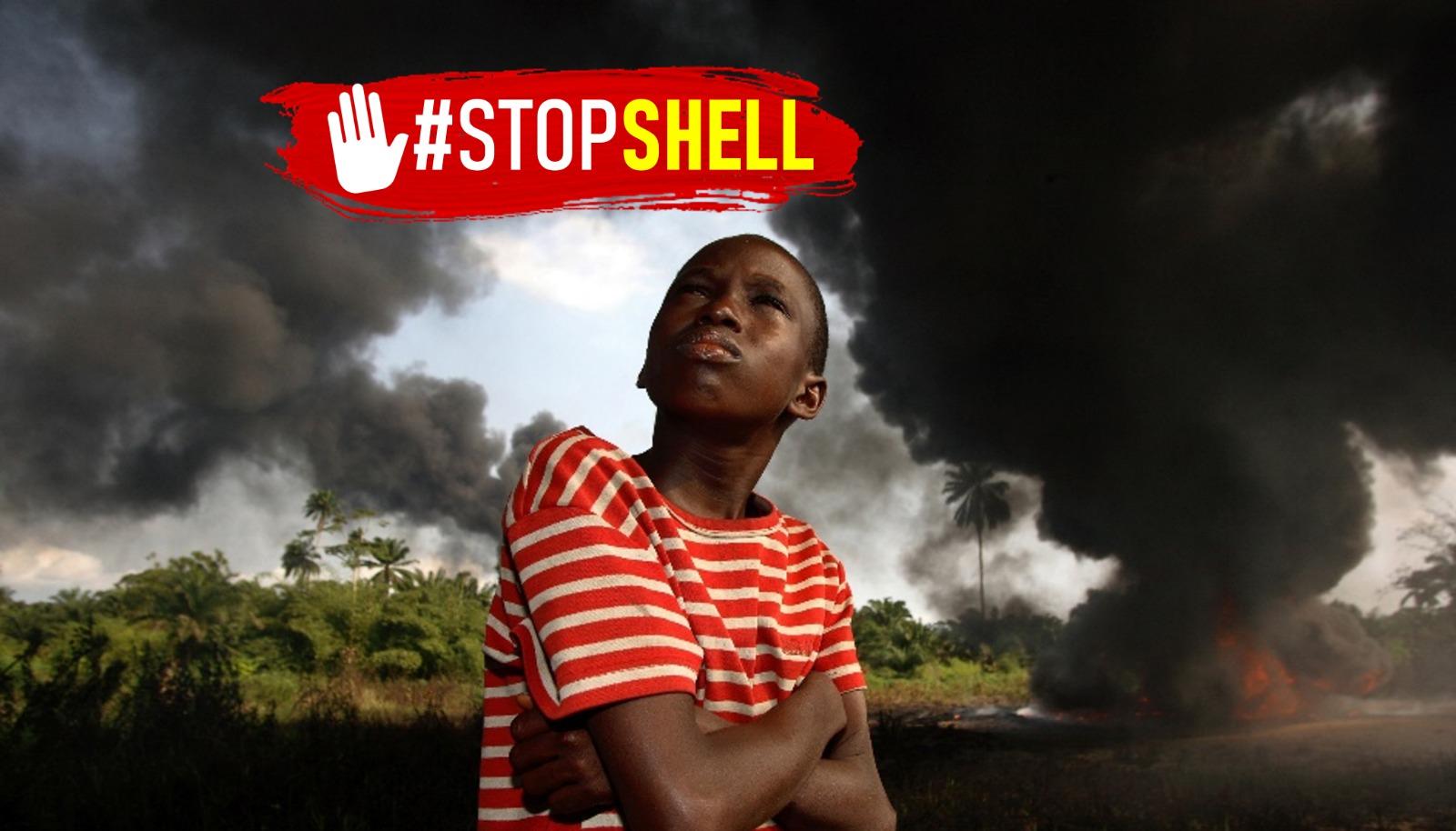 Ir a #StopSHELL Para salvar el Planeta hay que parar a Shell