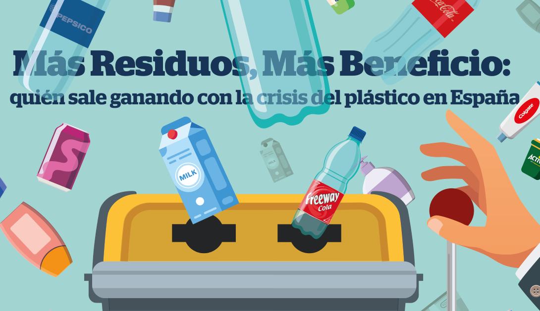 Ir a La mala gestión de los residuos de envases cuesta a los españoles hasta 744 millones de euros anuales, según un informe