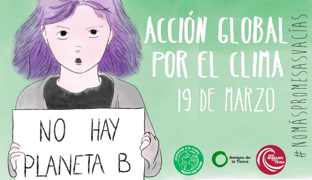 Ir a ¡No más promesas vacías! Acción por el Clima